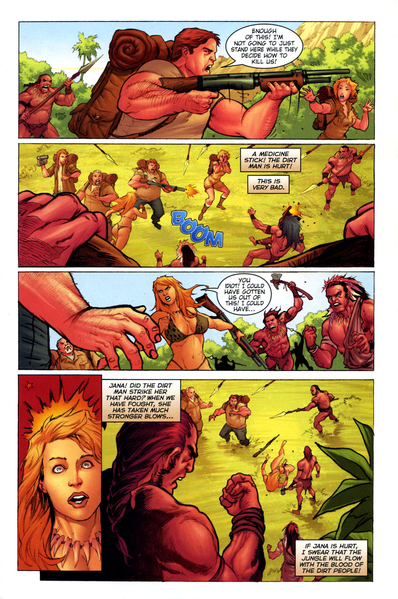Read online Jungle Girl comic -  Issue #3 - 10