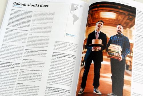 Wnętrze magazynu, dość obszerny wywiad z twórcami cukierni Baked
