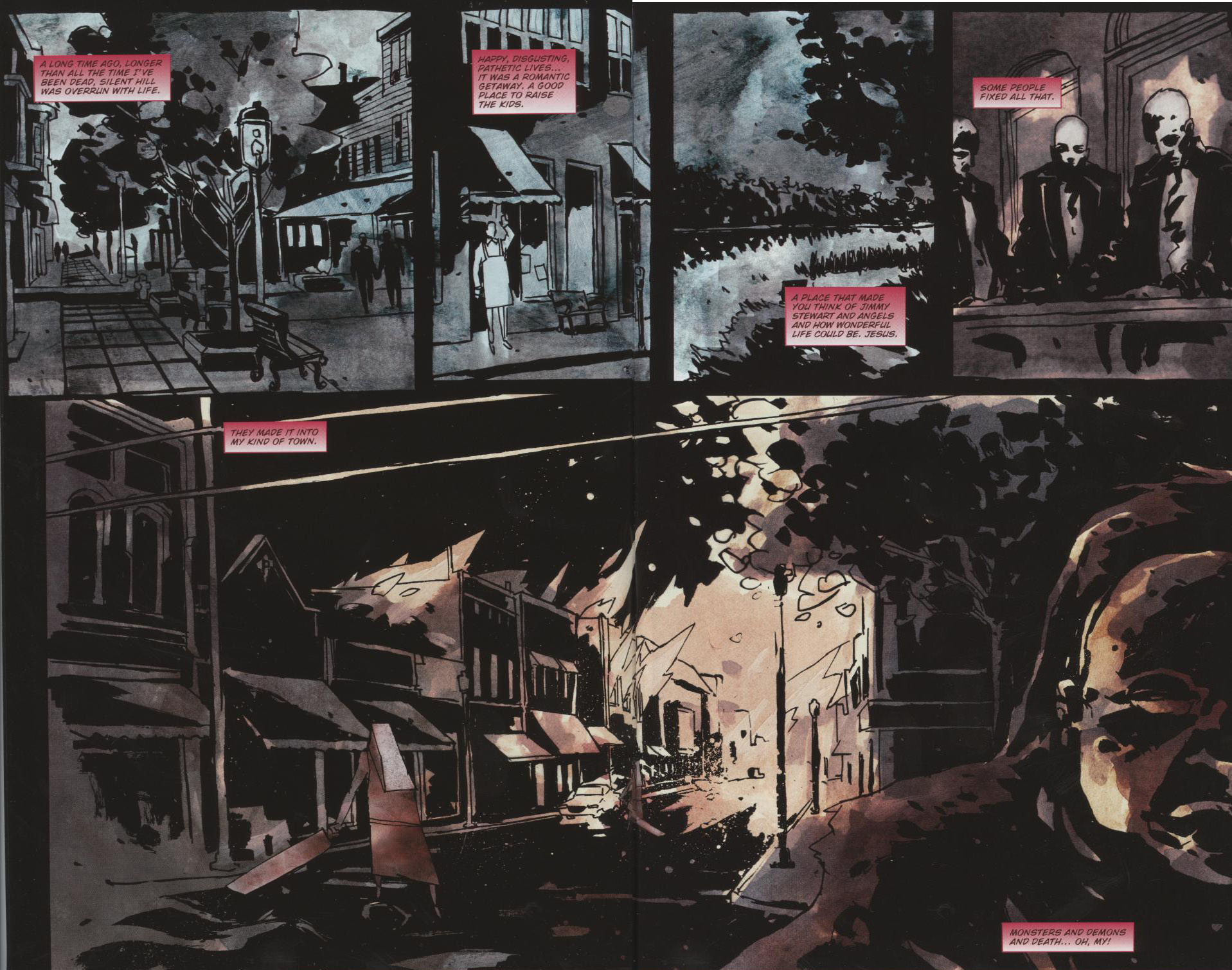 Read online Silent Hill: Dead/Alive comic -  Issue #1 - 3