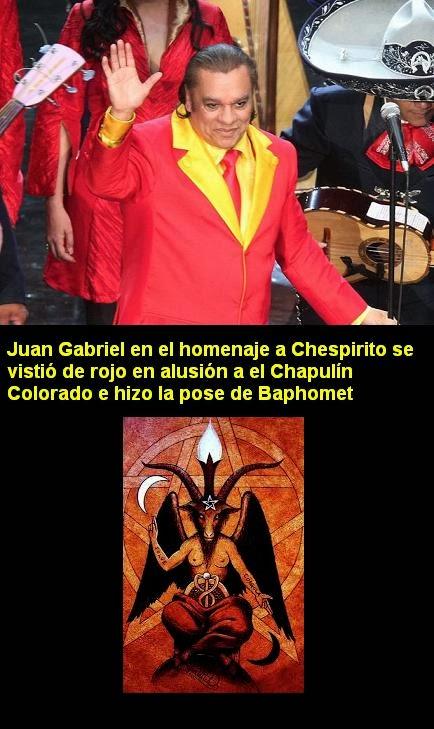 Resultado de imagen para juan gabriel pacto satanico