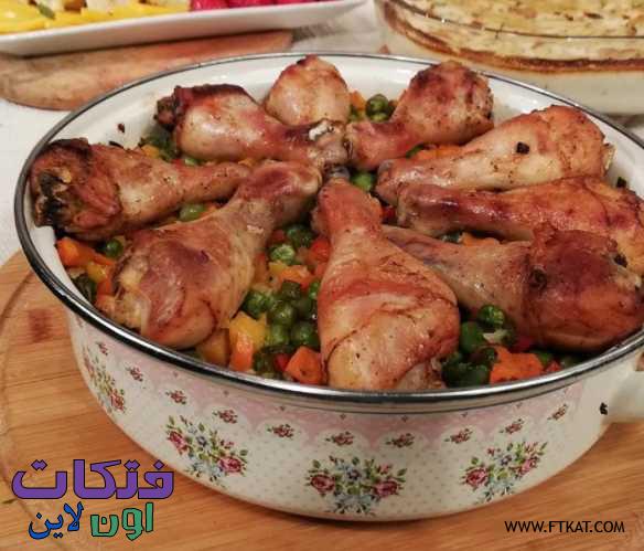 طريقة عمل فخارة افخاد الدجاج