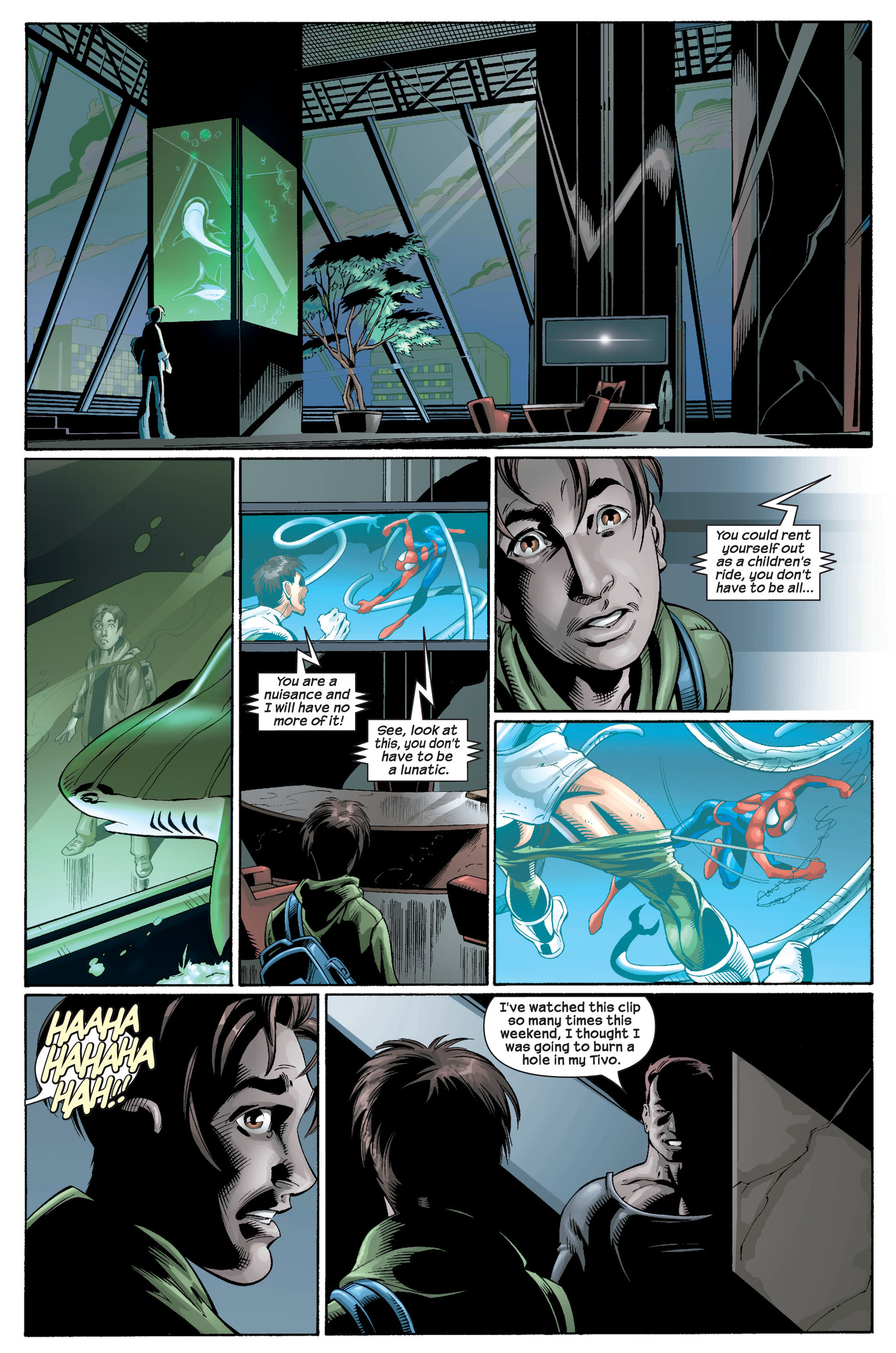 Read online Ultimate Spider-Man (2000) comic -  Issue #22 - 33