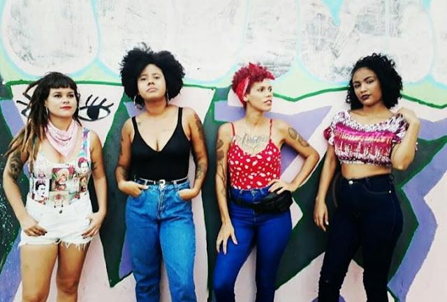 """Rap alagoano - Nick Ellen, Arielly Oliveira, Jany Li e Mamiwata lançam o clipe """"Dissparadas"""""""