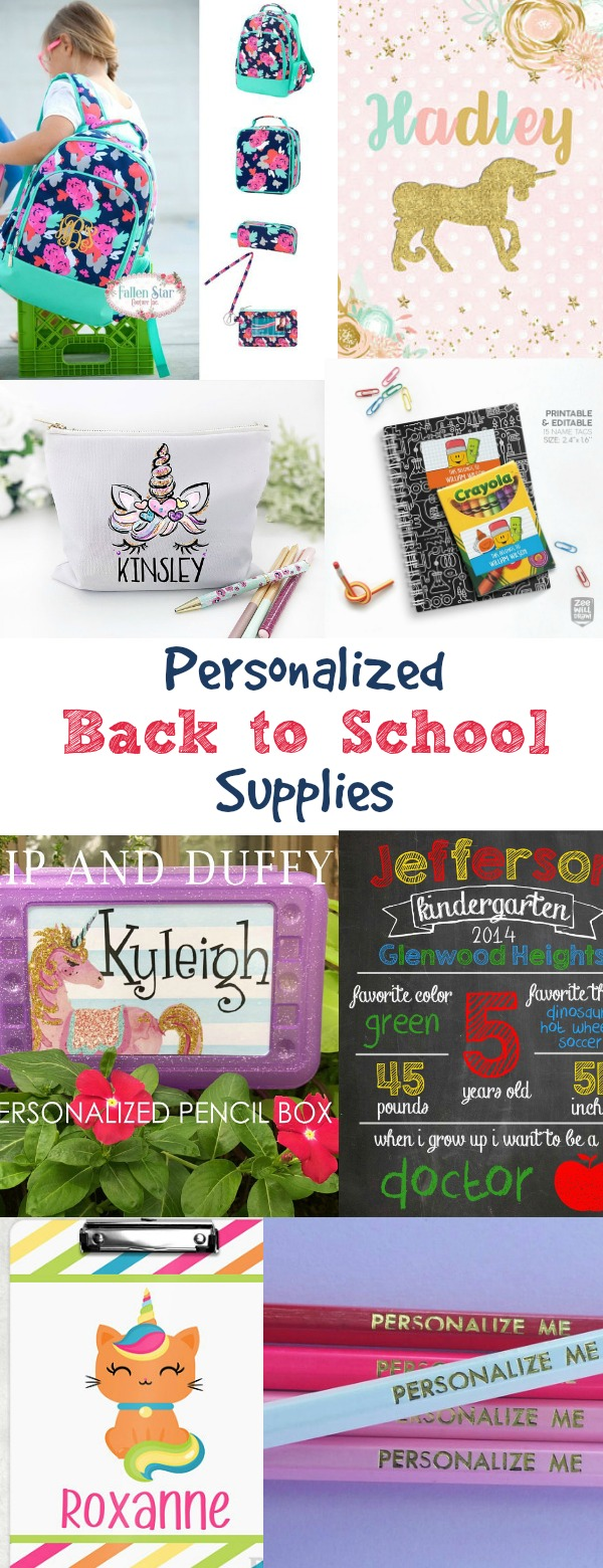 a235d4e744cd There s just something about getting new school supplies. And how fun to  have a few that are personalized with love! Below are 10 gift supplies ideas  for ...