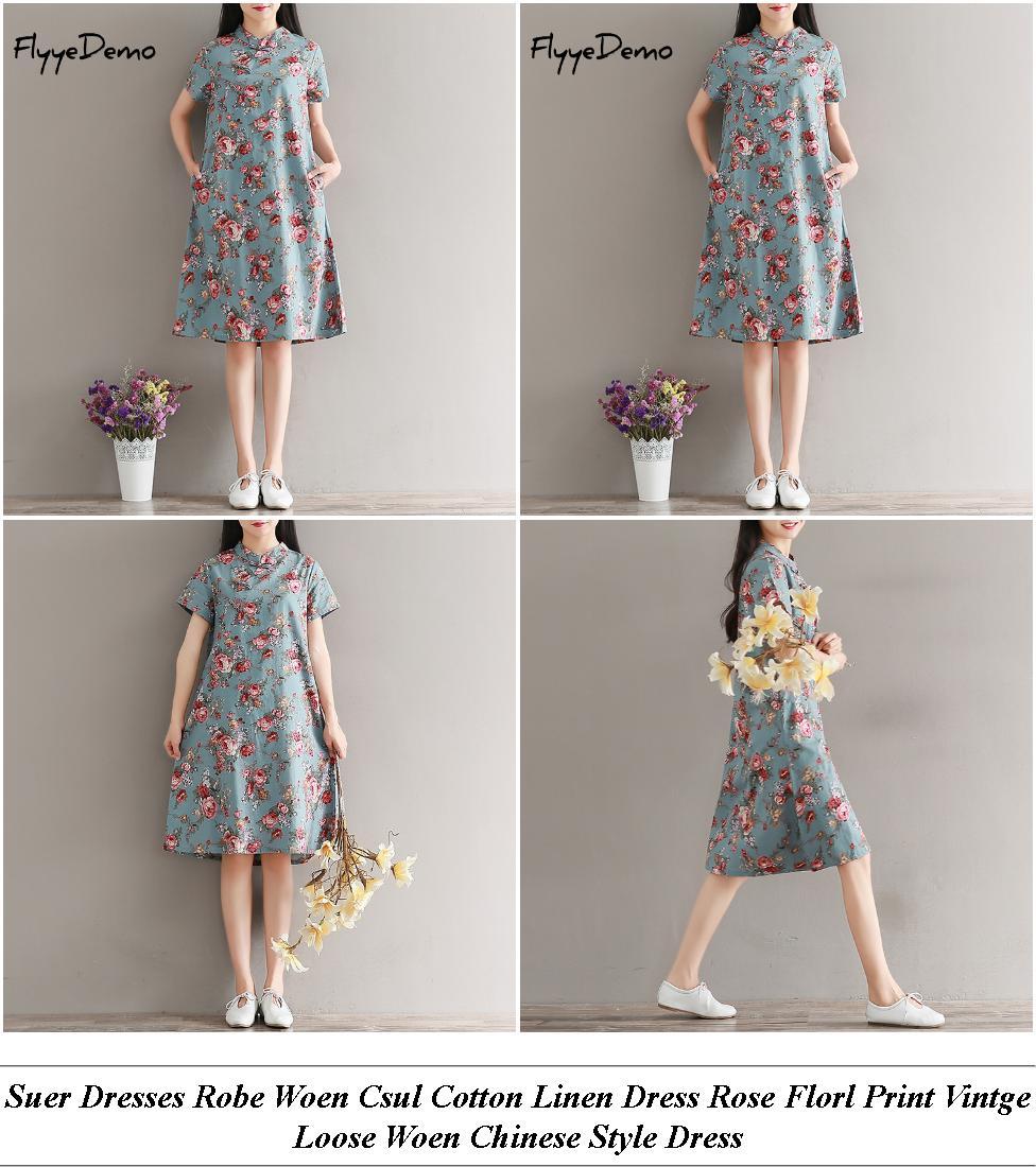 Vintage Dresses - Usa Sale - Gold Dress - Buy Cheap Clothes Online