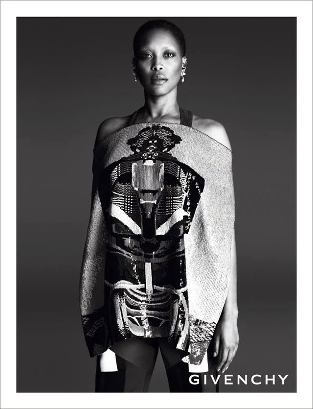 Givenchy Spring Summer 2014 campaign Erykah Badu