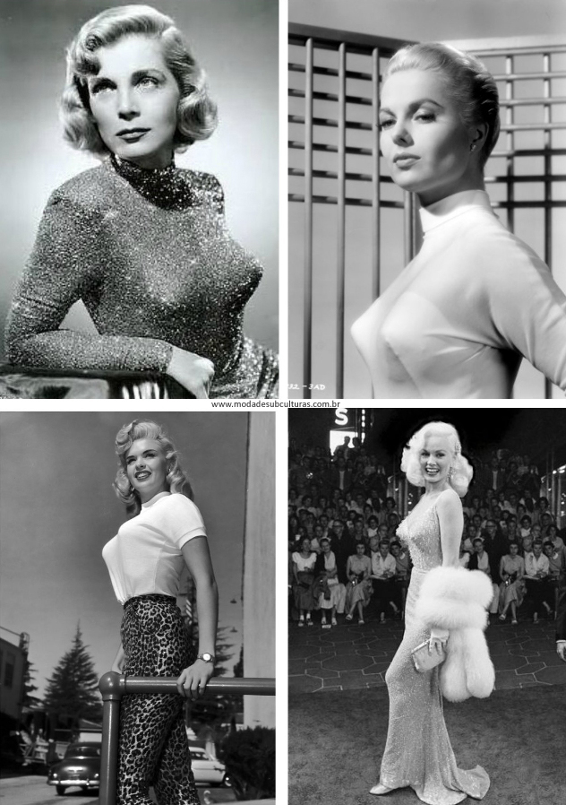 Lizabeth Scott, Martha Hayer, Jane Mansfied, Mamie von Doren.