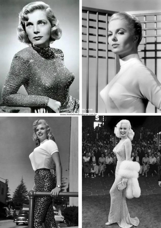 Lizabeth Scott, Martha Hayer, Jane Mansfied, Mamie von Doren.