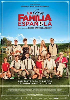 """""""La gran familia española"""" (Daniel Sánchez Arévalo, 2013)"""