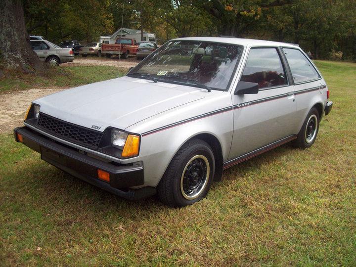 Daily Turismo: 5k: WikiOilLeaks: 1984 Dodge Colt Turbo GTS
