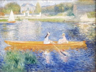 La Yole par Pierre-Auguste Renoir