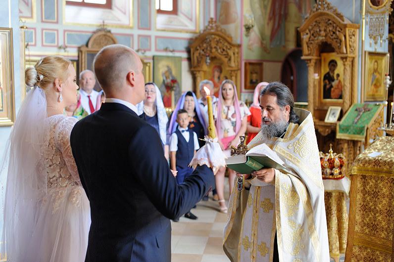 православная свадьба В Литве