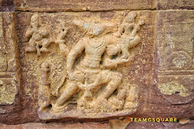 Bhu Varaha Swamy carved on temple wall