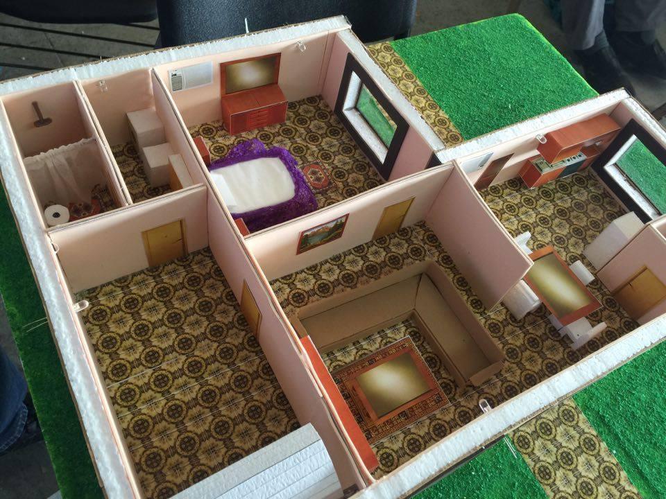 Los omb casa domotica fabricada de acuerdo a los planos for La casa domotica