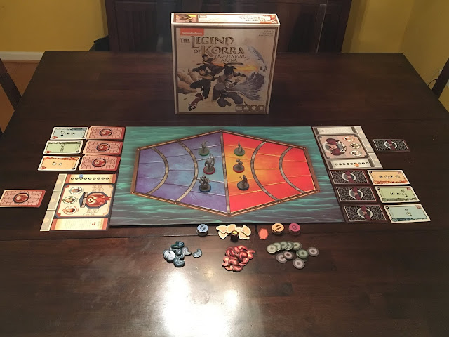 Legend of Korra: Pro-Bending Arena board game review by Benjamin Kocher. Photo by Benjamin Kocher