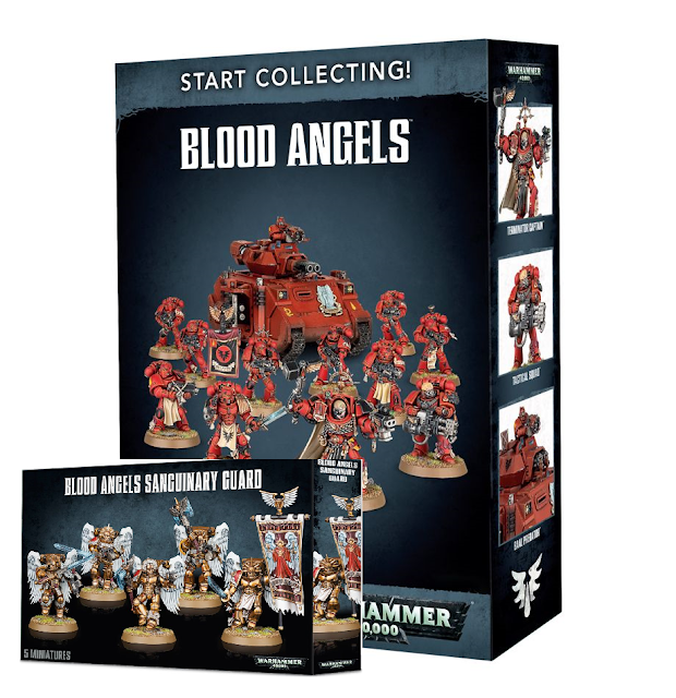 blood angels warhammer 40k 40000 space marines beginner guide first army army list