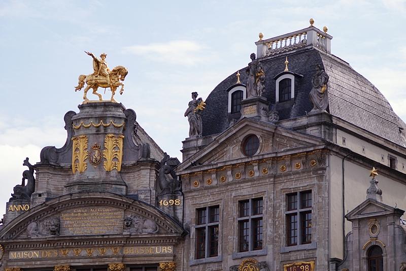 Grand Place/ Groote Markt in Brüssel, Belgien im Sommer