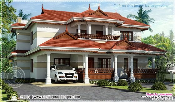 Beautiful Kerala home design