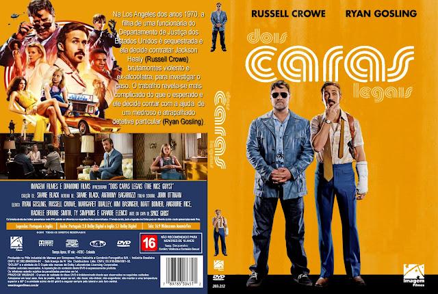 Capa DVD Dois Caras Legais