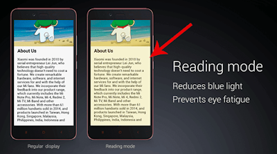 reading mode review redmi note 7