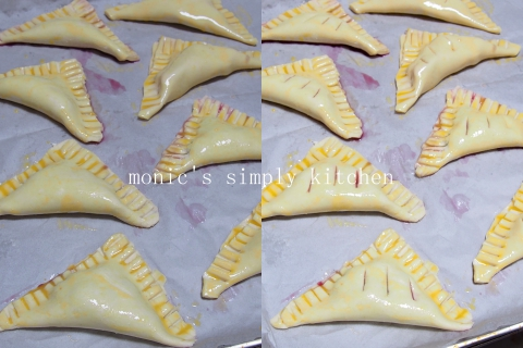 bluberry turnover pastry instan