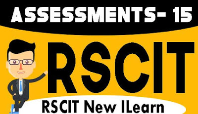 Rscit I-Learn Assessment- 15 Important Question in Hindi 2020, RKCL I-Learn Assessment - 15 in Hindi, i-Learn Important Question in Hindi, rkcl i learn assessment 15 question with answers in hindi