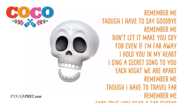 Sing Along to Cocos Remember Me with Our Fun Skeleton Animoji Karaoke With Lyrics  Pixar