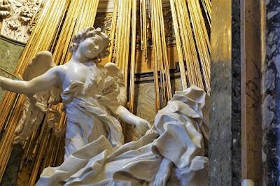 ベルニーニ、聖テレジアの法悦(部分)