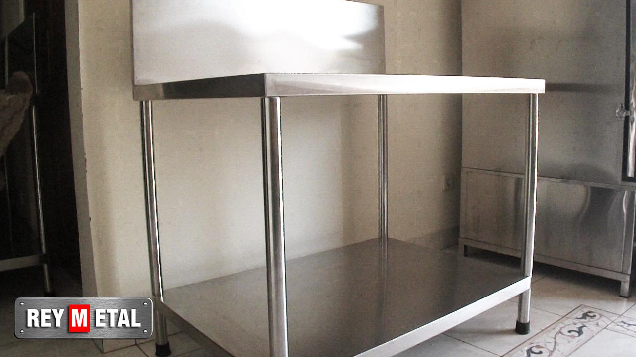 Meja Dapur Stainless Untuk Kompor Gas