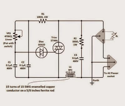 Triac Circuit Diagrams - All Diagram Schematics