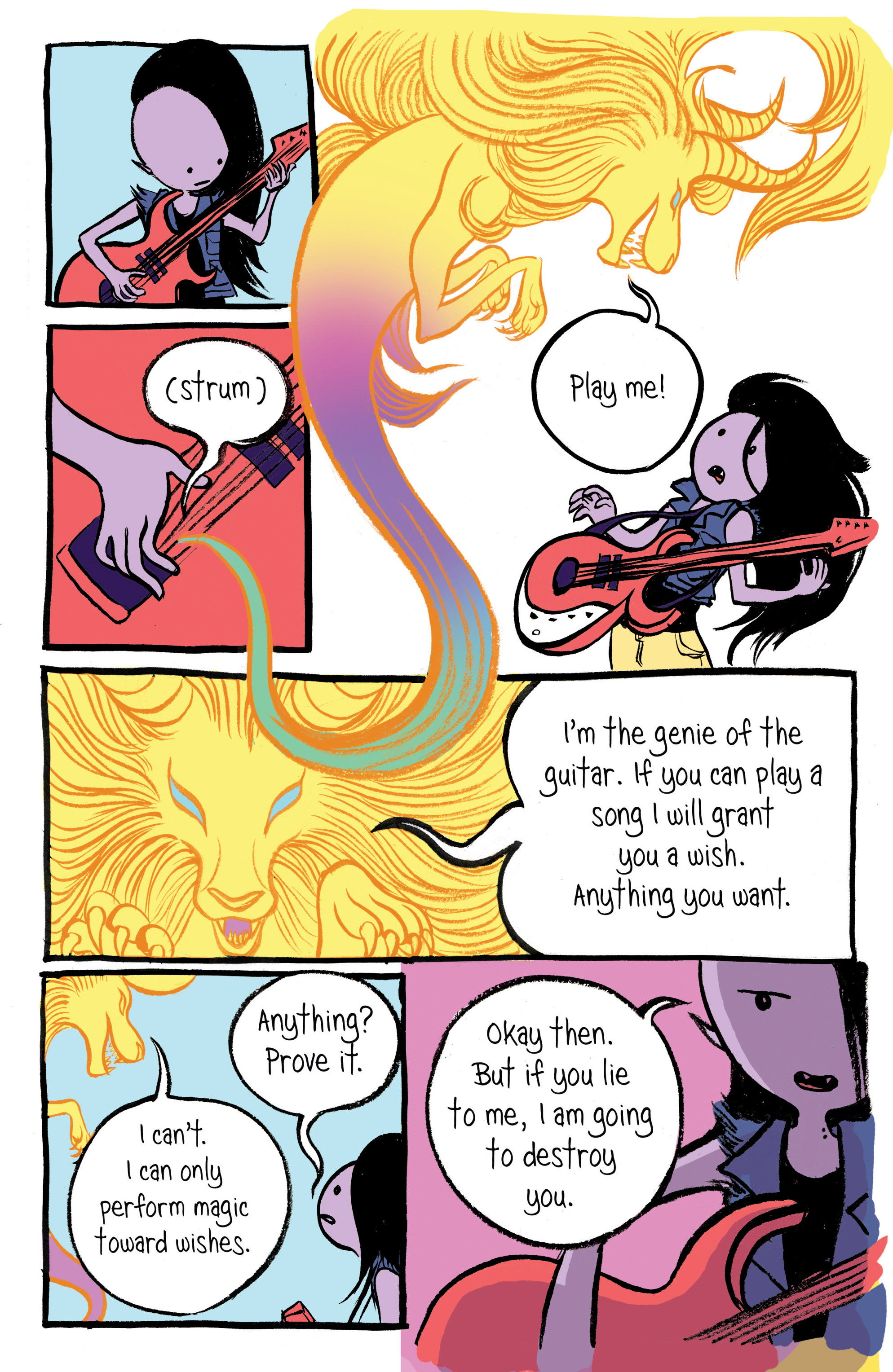 Read online Adventure Time: Marceline and the Scream Queens comic -  Issue #1 - 23