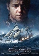 """Carátula del DVD: """"Master and Commander: al otro lado del mundo"""""""
