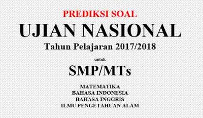 Prediksi Soal UN Matematika SMP 2017/2018