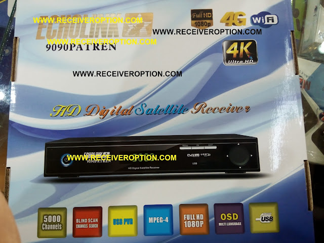 ECHOLINK 9090 PATREN HD RECEIVER CCCAM OPTION