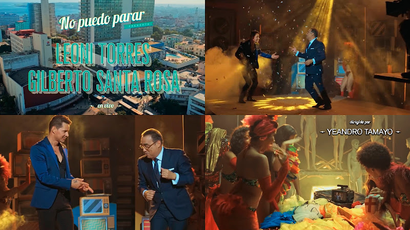 Leoni Torres - Gilberto Santa Rosa - ¨No puedo parar¨ - Videoclip - Dirección: Yeandro Tamayo Luvin. Portal del Vídeo Clip Cubano