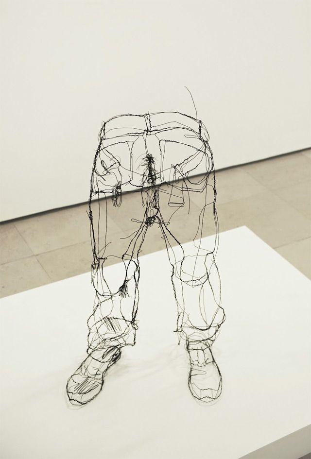 Escultura con alambre