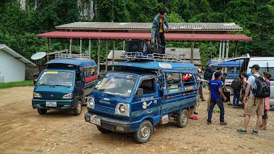 Nong Khiaw bus station
