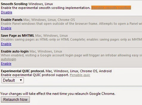 How to Enable Secret Smooth Scrolling in Google Chrome