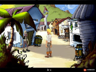 Escena El Amuleto de Monkey Island