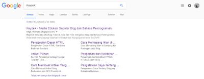Cara Mendapatkan Sitelink Dari Google Dengan Cepat dan Mudah