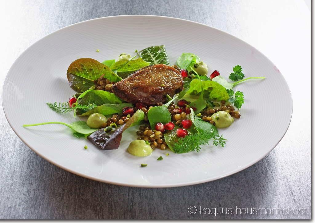 Salat Weihnachten.Kaquus Hausmannskost Für Weihnachten Ein Salat Mit Taube