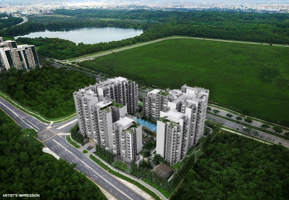 Alps Residences Aerial View