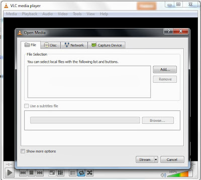 How to play RTSP through VLC | Oppa Newbie Blog