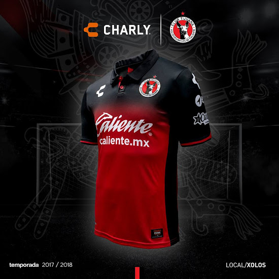 87f0f746a No More Adidas | Charly Club Tijuana 17-18 Home & Away Released ...