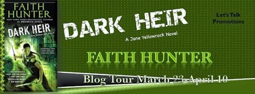Faith Hunter - Dark Heir Blog Tour - April 3, 2015