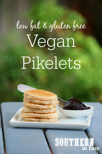 The Best Vegan Pikelets Recipe - healthy, gluten free, vegan australia day recipes, low fat, egg free, dairy free, peanut free, lunchbox, back to school, clean eating recipes, low calorie