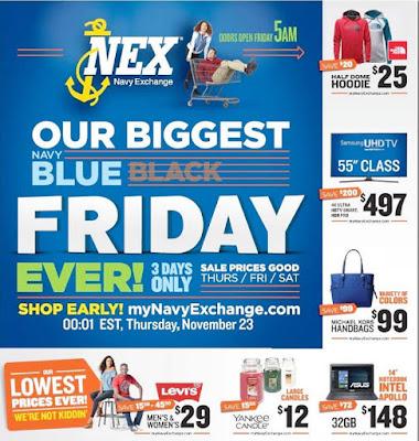 Navy Exchange Black Friday 2017 Ad