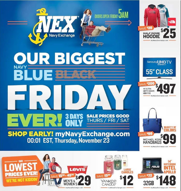 Navy Exchange Black Friday 2017 Ad