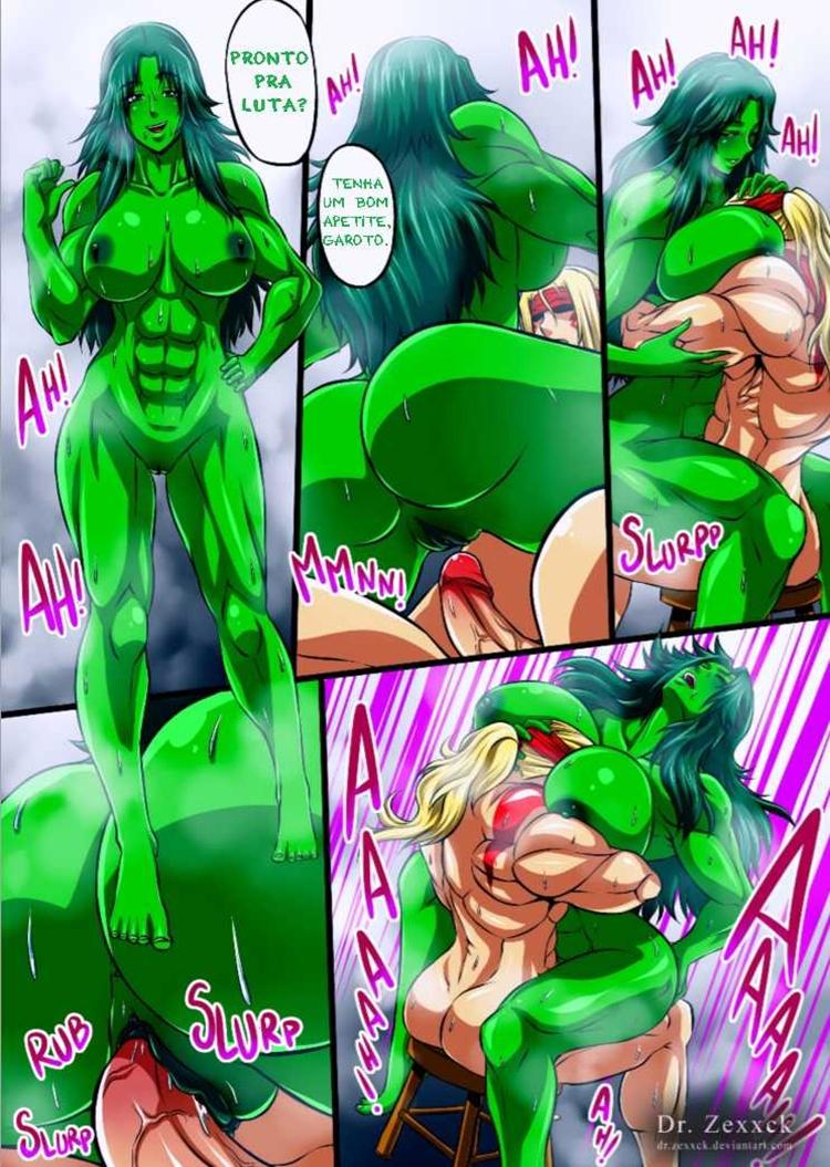 Alex vs mulher Hulk