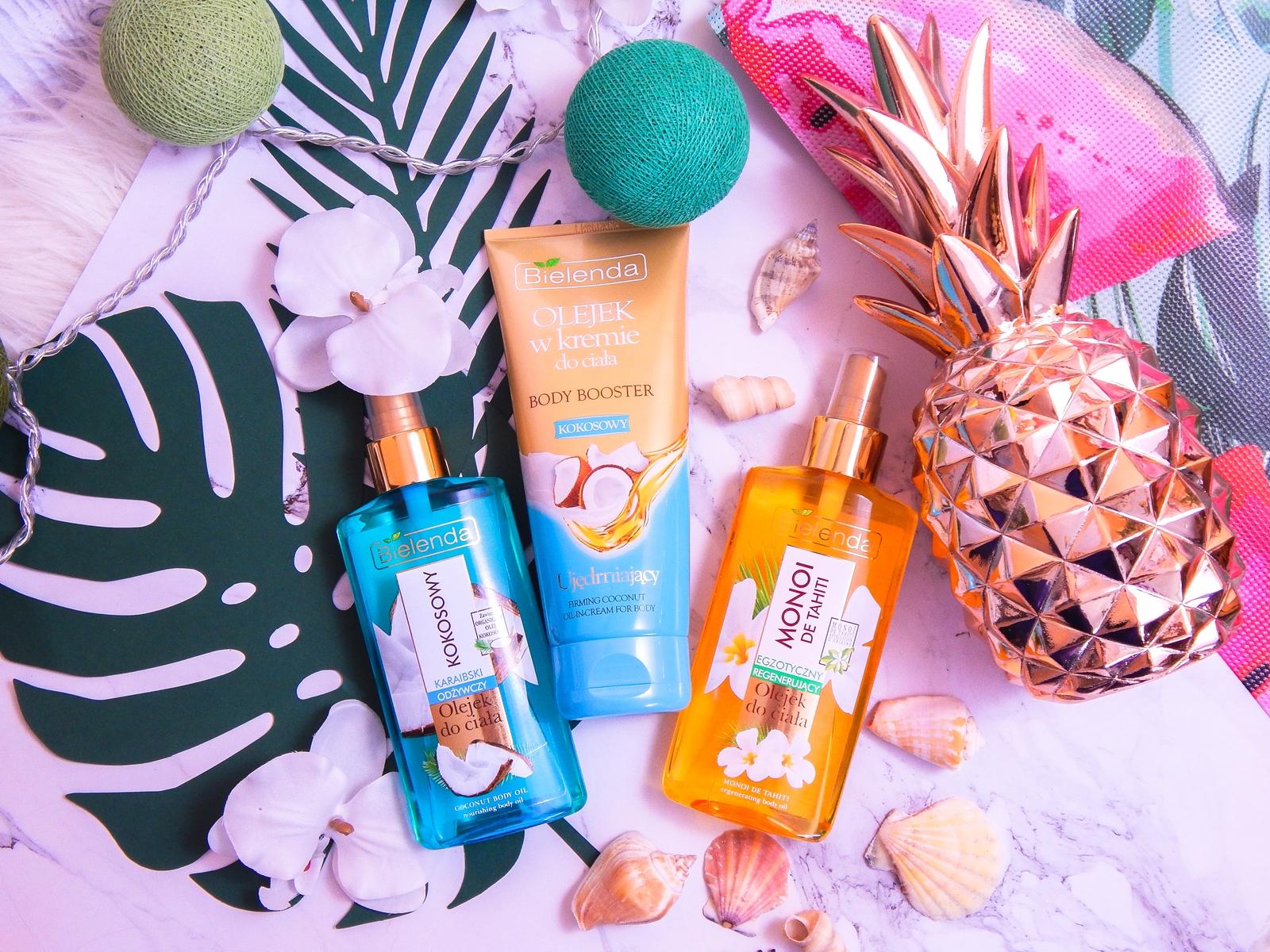 1 bielenda karaibski odżywczy olejek kokosowy do ciała monoi de tahiti recenzja opinia cena melodylaniella blog lifestyle urodowy blogerki z łodzi blogerka recenzje olejek w kremie kokosowy kosmetyki